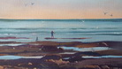 Bruce Malloch - Low Tide - Cable Beach